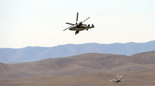 Trực thăng Nga rơi ở Syria, phi công thiệt mạng