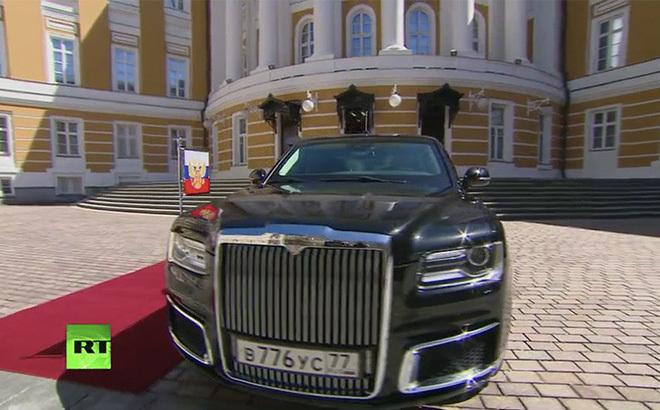 Ông Putin sử dụng 'siêu xe' công nghệ vượt xa xe của ông Trump tại lễ nhậm chức?