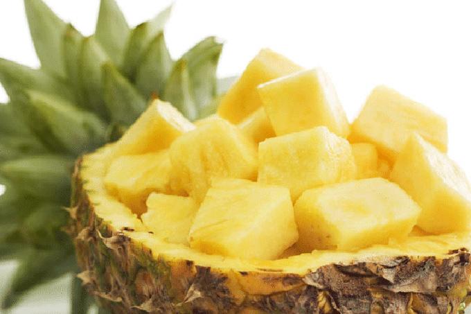 trái cây,hoa quả,dứa,làm đẹp,ngộ độc nấm,dị ứng