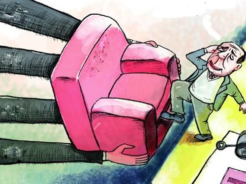 Để những kẻ háo quyền lực hết mơ chễm chệ 'ghế' cao