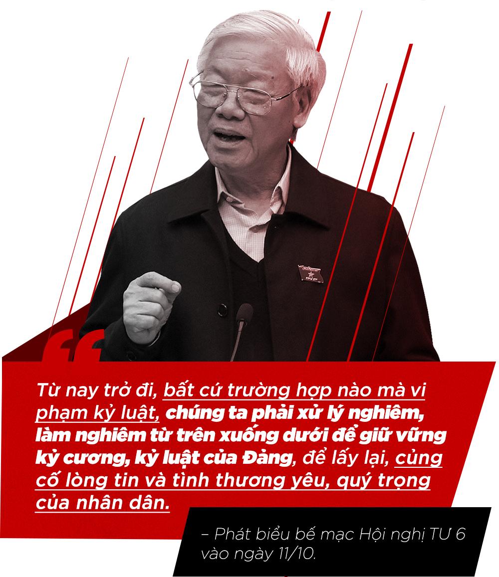 Tổng bí thư,Nguyễn Phú Trọng,kỷ luật cán bộ,tham nhũng,hội nghị Trung ương 7,chống tham nhũng