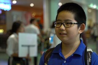Cậu bé 13 tuổi tham dự Olympic Vật lý châu Á tại Việt Nam