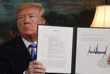Ông Trump rút khỏi thỏa thuận hạt nhân Iran