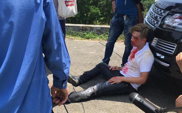 Việt Anh bị đánh bầm dập trong 'Người phán xử'
