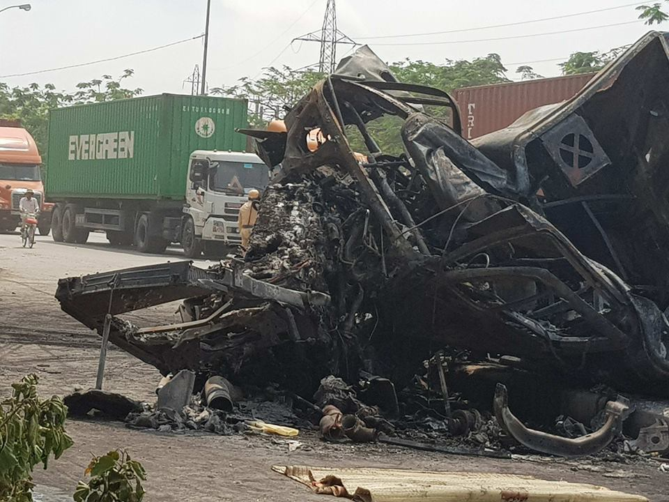 tai nạn giao thông,tai nạn xe container,tai nạn chết người,tai nạn,tai nạn ở Hải Phòng,tai nạn ô tô