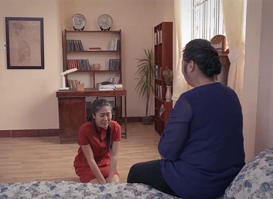 Hồng Vân vào vai bà mẹ cay nghiệt trên màn ảnh