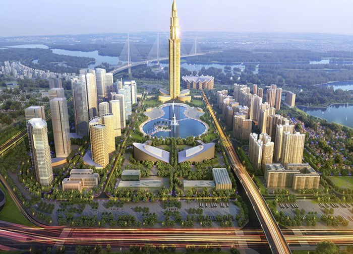 thành phố thông minh,Bắc sông Hồng