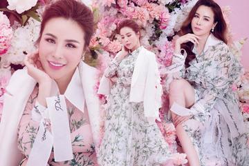 Hình ảnh ngọt ngào hiếm thấy của hoa hậu chuyên hàng hiệu