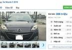 Ô tô Mazda cũ số tự động rao bán tầm giá 300 triệu tại Việt Nam