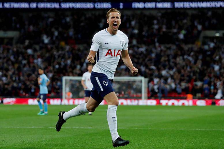 Harry Kane lập đại công, Tottenham đoạt vé dự cup C1