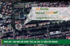 'Nhà ma' 300 Kim Mã được trả lại sau 27 năm bỏ hoang