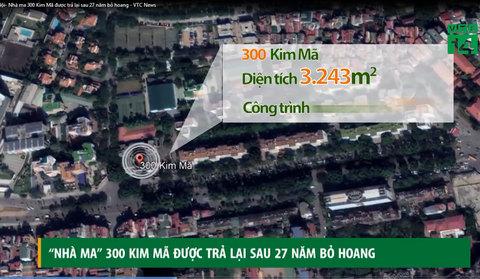 Hà Nội: 'Nhà ma' 300 Kim Mã được trả lại sau 27 năm bỏ hoang
