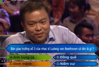 Nam giảng viên gây tiếc nuối khi dừng chân ở câu 13 'Ai là triệu phú'