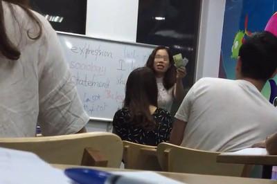 """Yêu cầu rà soát các trung tâm ngoại ngữ sau vụ cô giáo chửi học viên là """"lợn"""""""