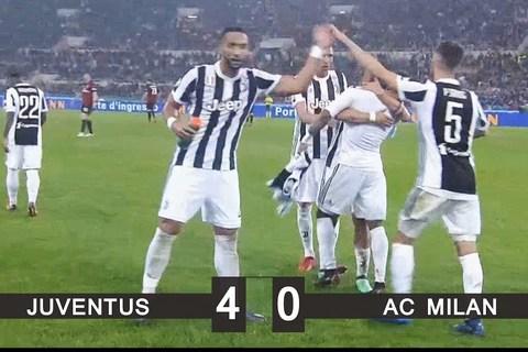 Juventus 4-0 Milan