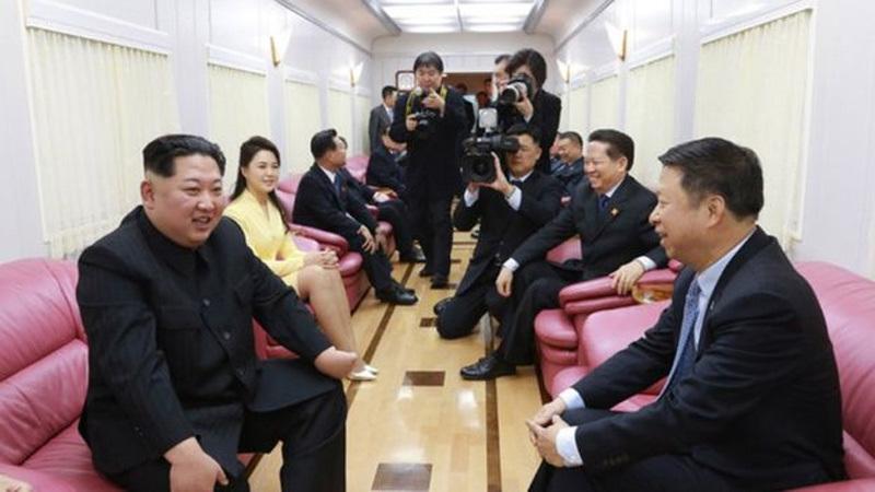 Những 'siêu' phương tiện đặc trách phục vụ Kim Jong Un