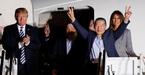 Ông Trump đích thân đón 3 tù nhân trở về từ Triều Tiên