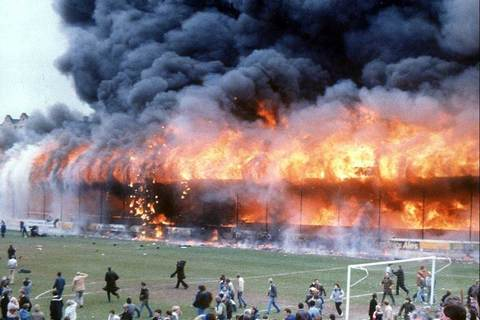 thảm kịch trên sân Bradford