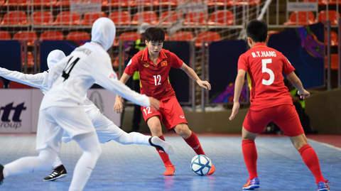 Futsal nữ Việt Nam 0-5 nữ Iran