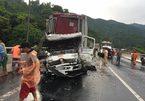 Tai nạn liên hoàn, hầm Hải Vân tắc nghẽn nhiều giờ