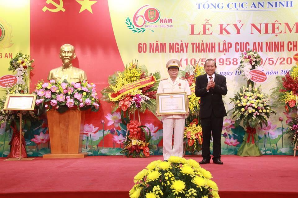 Cục An ninh chính trị nội bộ kỷ niệm 60 năm ngày thành lập