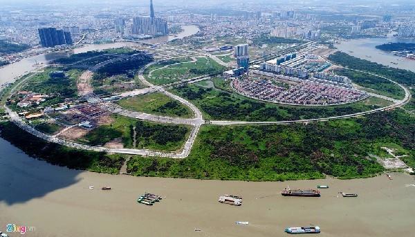 Khu thành thị Thủ Thiêm,mất bản đồ quy hoạch Thủ Thiêm,đổi đất lấy hạ tầng,dự án BT