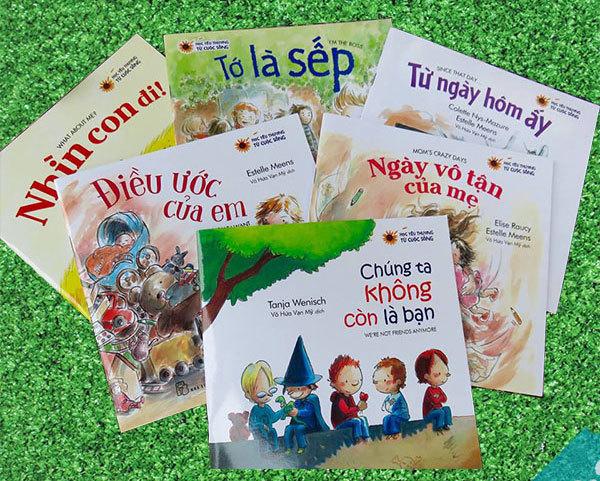 Học yêu thương từ cuộc sống qua những cuốn sách nhỏ