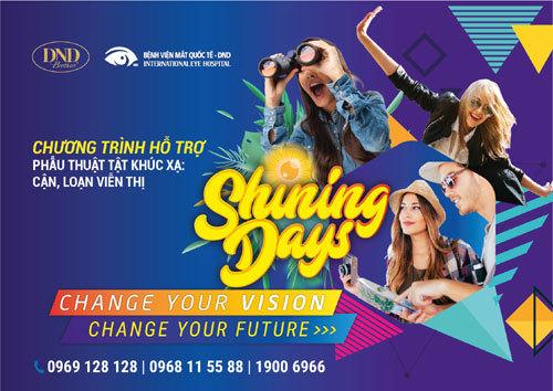 Shining Day 2018: Tháo kính nhẹ nhàng không màng về giá