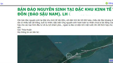Rao bán cả hòn đảo, đất rừng tại Vân Đồn trên mạng