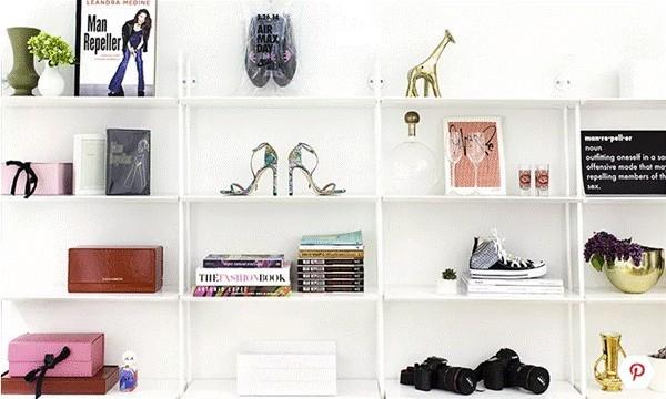 Hàng loạt mẫu kệ để đồ vừa xinh, vừa yêu dành riêng cho nhà nhỏ