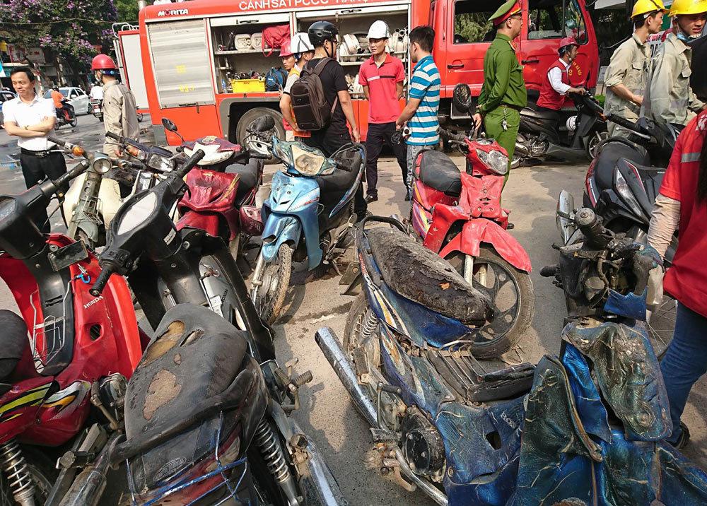 Hà Nội: Cháy nghi ngút ở bệnh viện Việt - Pháp