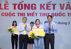 Học sinh Hải Dương đạt giải nhất viết thư quốc tế UPU