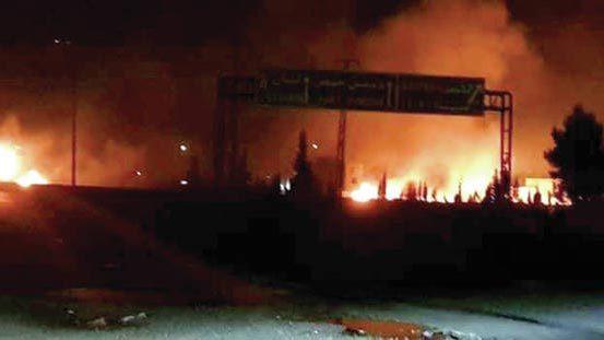 Những hình ảnh Israel tấn công Syria gây chấn động thế giới