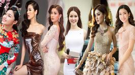 Ngắm dàn Hoa hậu, Á hậu xinh đẹp đầy cuốn hút của VTV