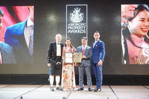 Vinhomes Riverside nhận giải KĐT tốt nhất Việt Nam
