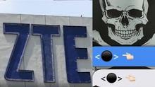 Tập đoàn ZTE 'tê liệt', iPhone tử nạn vì 'chấm đen chết chóc'