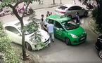 Công an điều tra thanh niên đi Mercedes đánh tài xế taxi chảy máu đầu