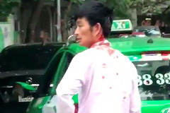 Diễn biến bất ngờ vụ thanh niên đi Mercedes đánh tài xế taxi chảy máu