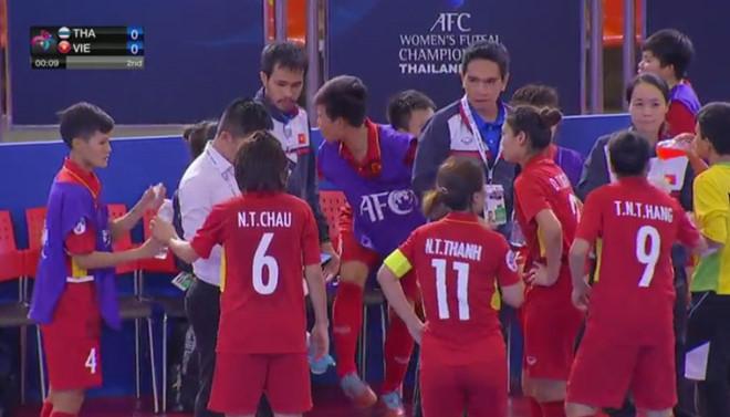 futsal nữ châu Á 2018,futsal Việt Nam,futsal nữ Việt Nam