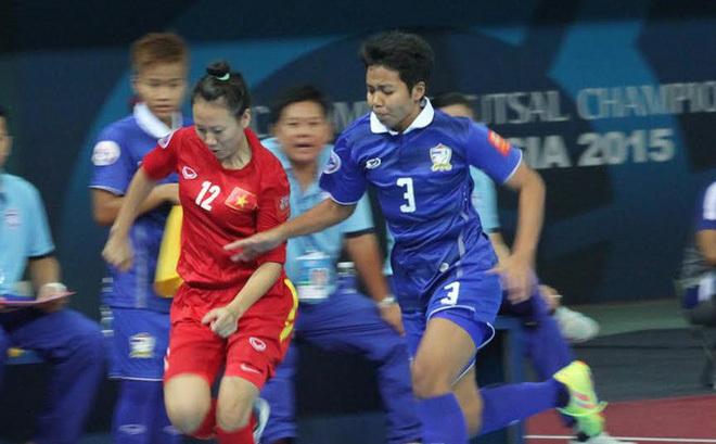 Thua luân lưu Thái Lan, tuyển nữ futsal Việt Nam hụt HCĐ châu Á