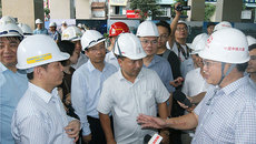 Bộ trưởng GTVT nói gì khi đi thử đường sắt Cát Linh - Hà Đông