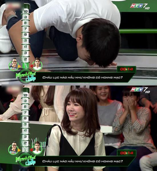 Trường Giang cười lăn lộn vì đáp án sai giống nhau của các khách mời