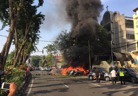 Đánh bom tại Indonesia