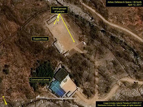 bãi thử hạt nhân,Triều Tiên,Punggye-ri,nổ hạt nhân