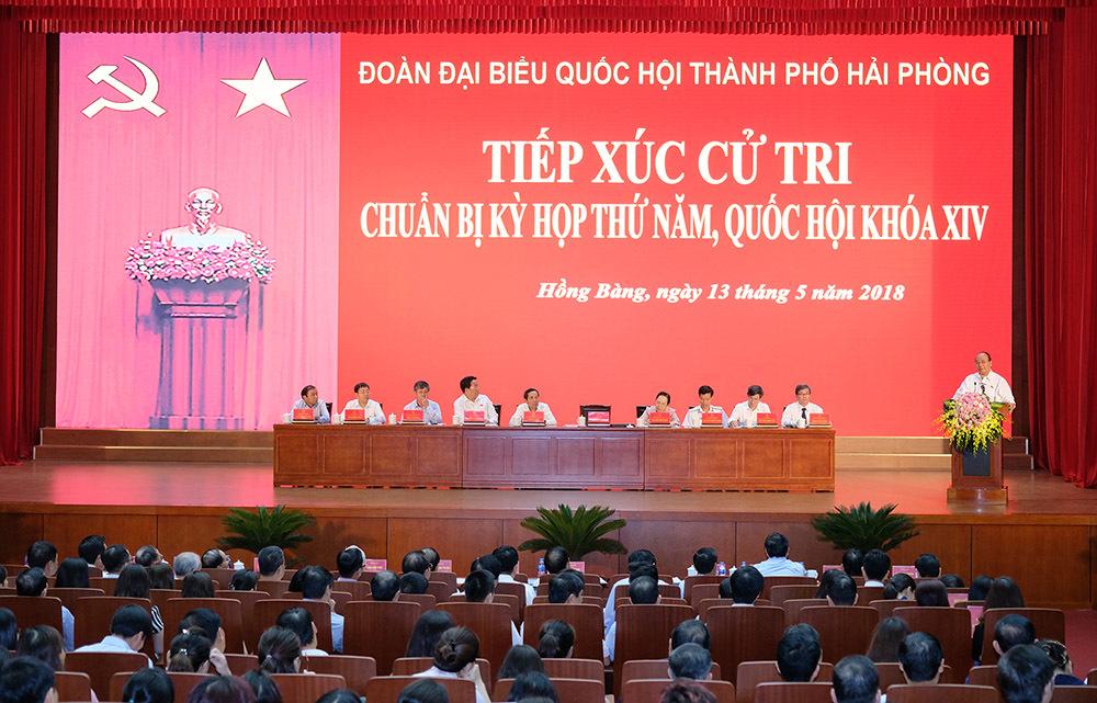 tiếp xúc cử tri,Thủ tướng Nguyễn Xuân Phúc,Nguyễn Xuân Phúc