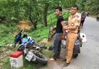 CSGT truy bắt tên trộm xe máy như phim hành động