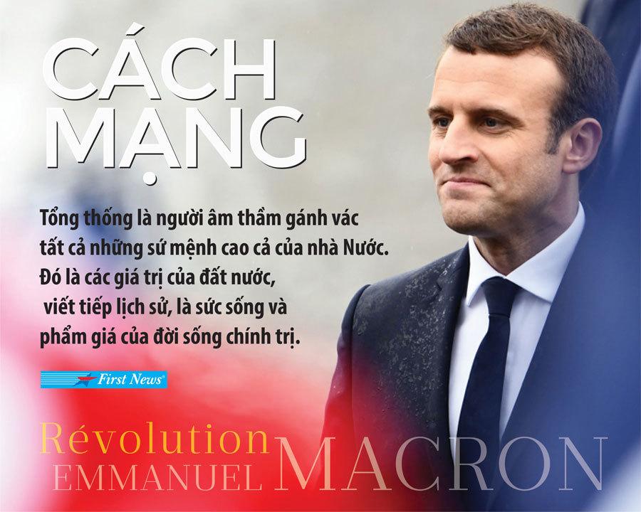 Emmanuel Macron,Tổng thống Pháp