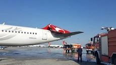Máy bay Asiana đâm gãy cánh đuôi máy bay Thổ Nhĩ Kỳ