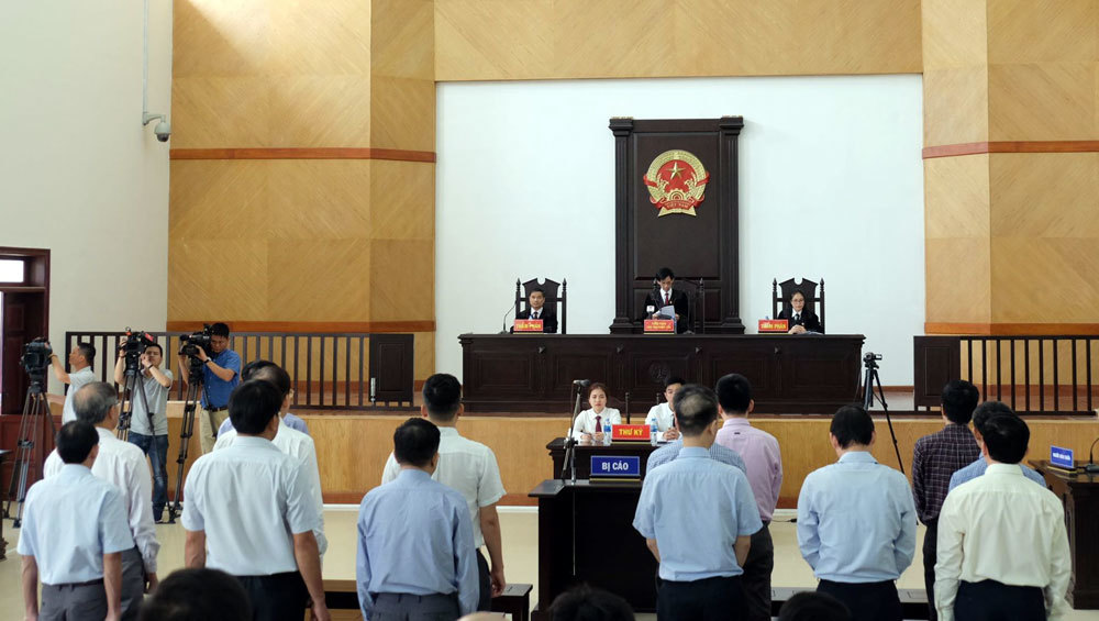 Ông Đinh La Thăng bị tuyên y án 13 năm tù
