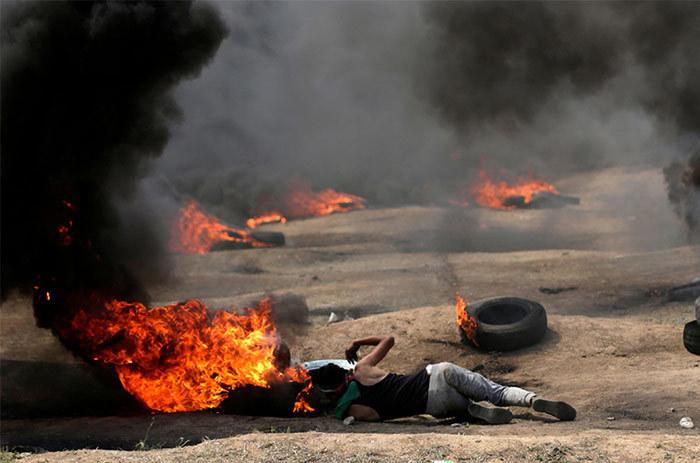 Gaza chìm trong bạo động, hàng trăm người thương vong